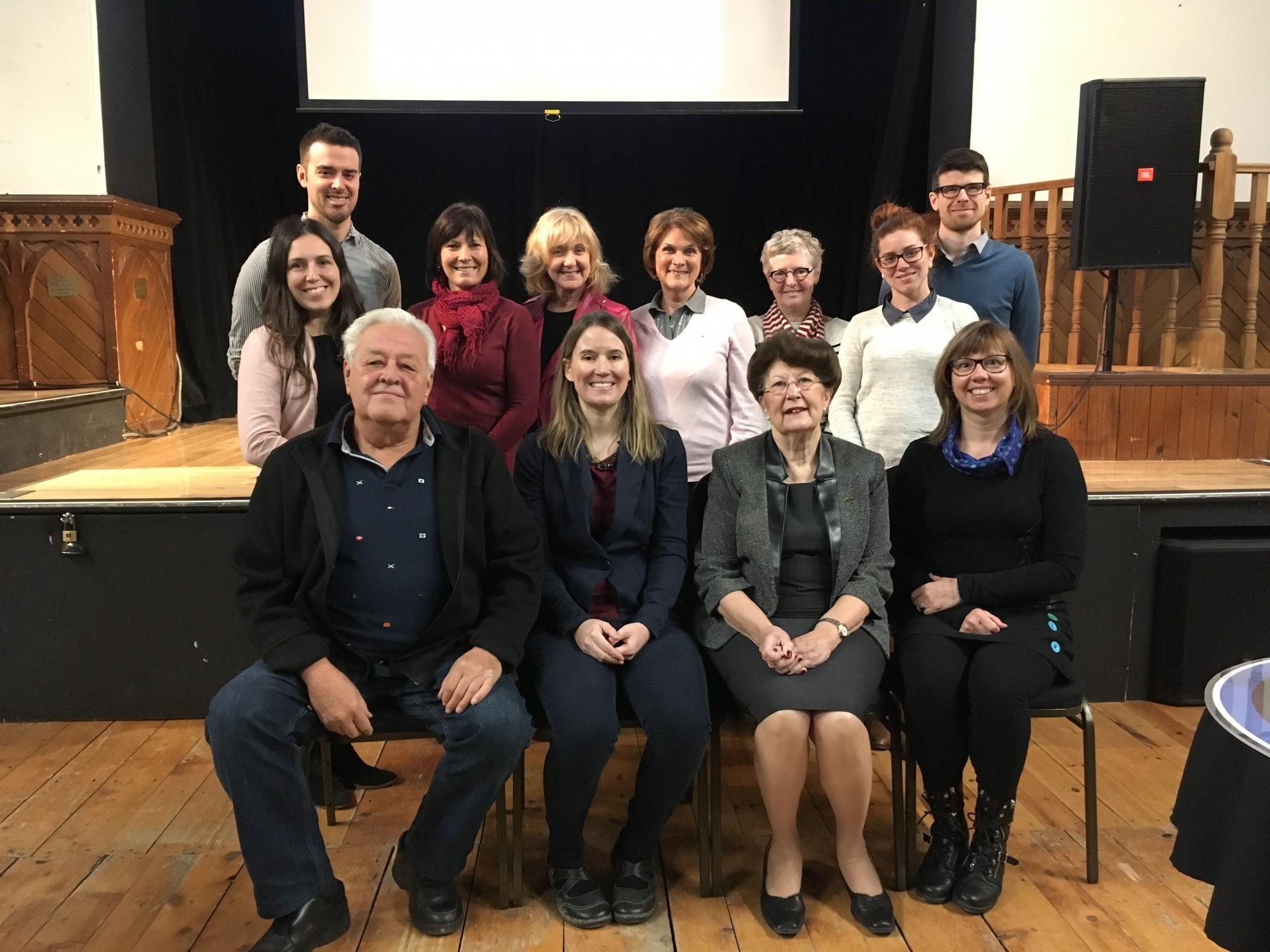 Photo- Comité de travail Politique culturelle