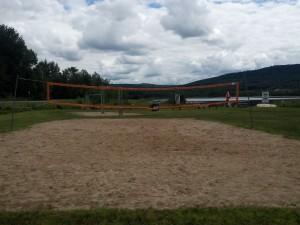 Volleyballe Plage Bromont