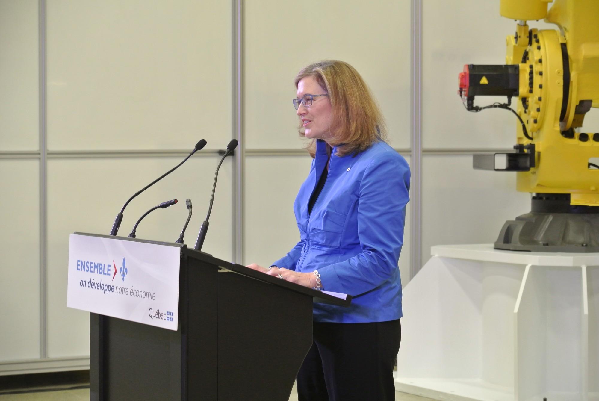 Elyse Allan, présidente et chef de la direction de GE Canada