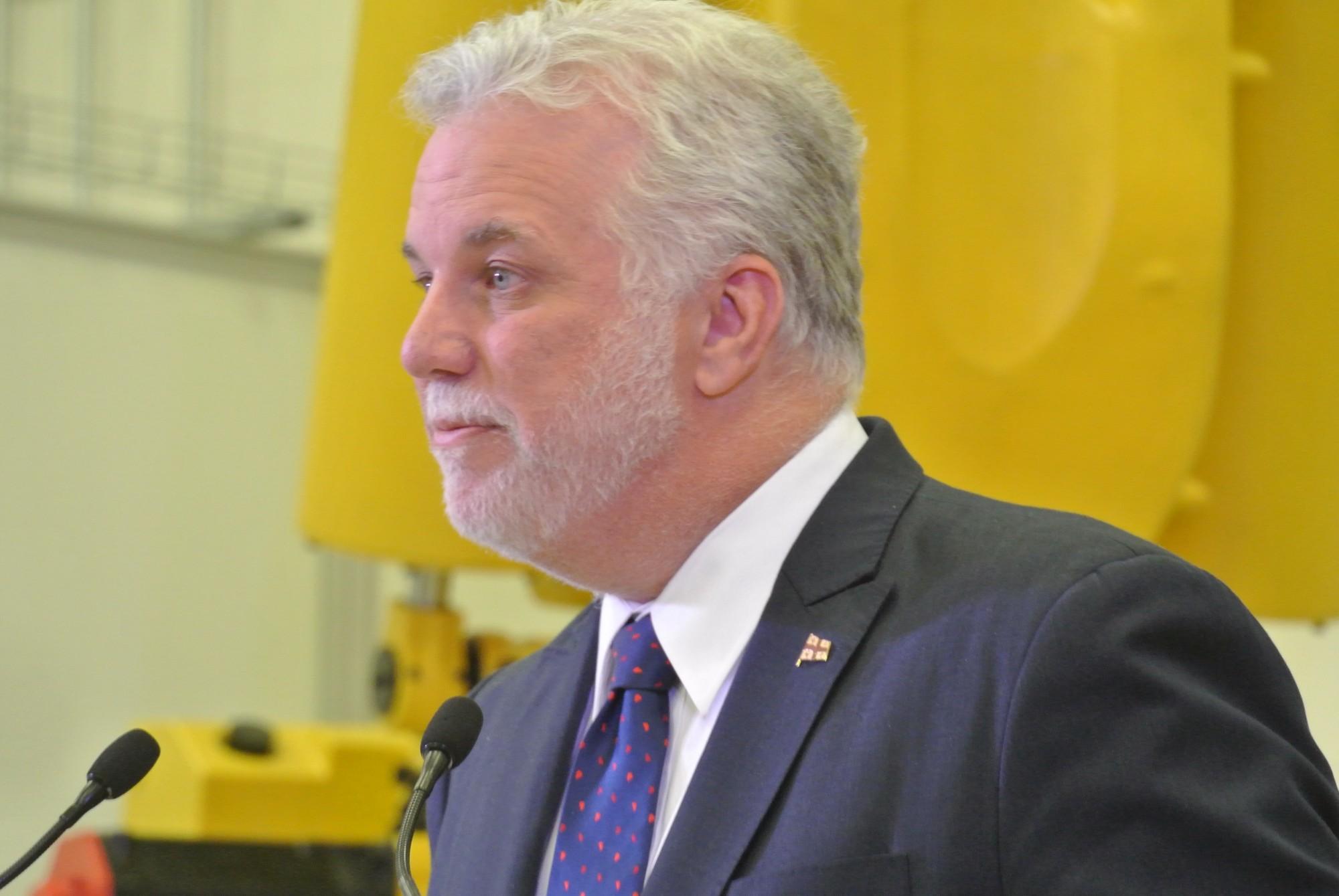 Philippe Couillard, premier ministre du Québec