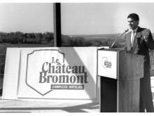 Inauguration du Château Bromont